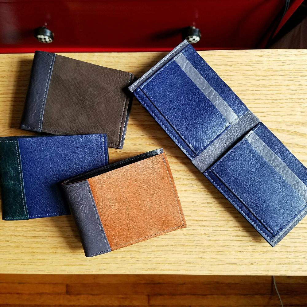 Frankie Leather Bifold Wallet for Men