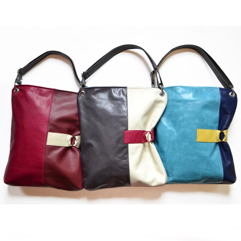 Luella Leather Crossbody Laptop Bag