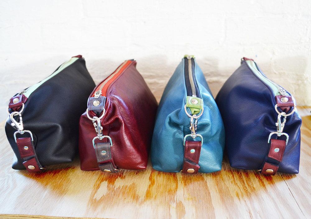 Otto Leather Dopp Kits for Men