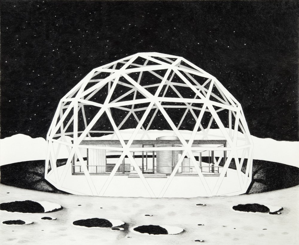 Proposition 1: Moon Museum of Architecture featuring The Glass House by Philip Johnson, 2017.