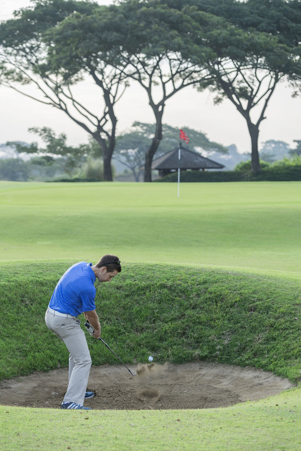 Myanmar Open Golf Course Yangon