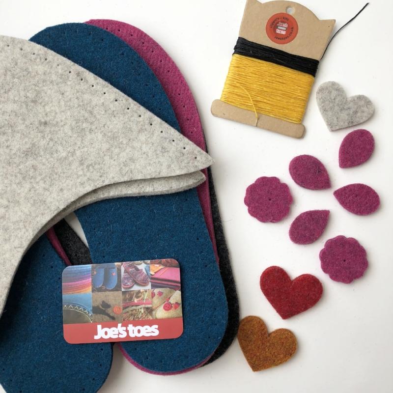 DIY Wool Slipper Kit.JPG