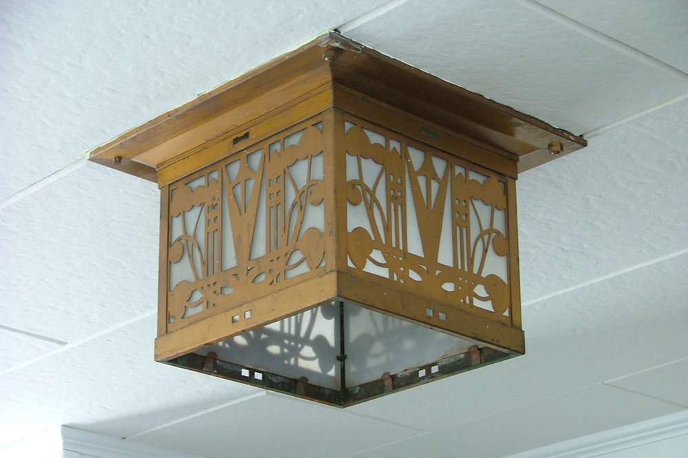 Brandon Community House light fixtures