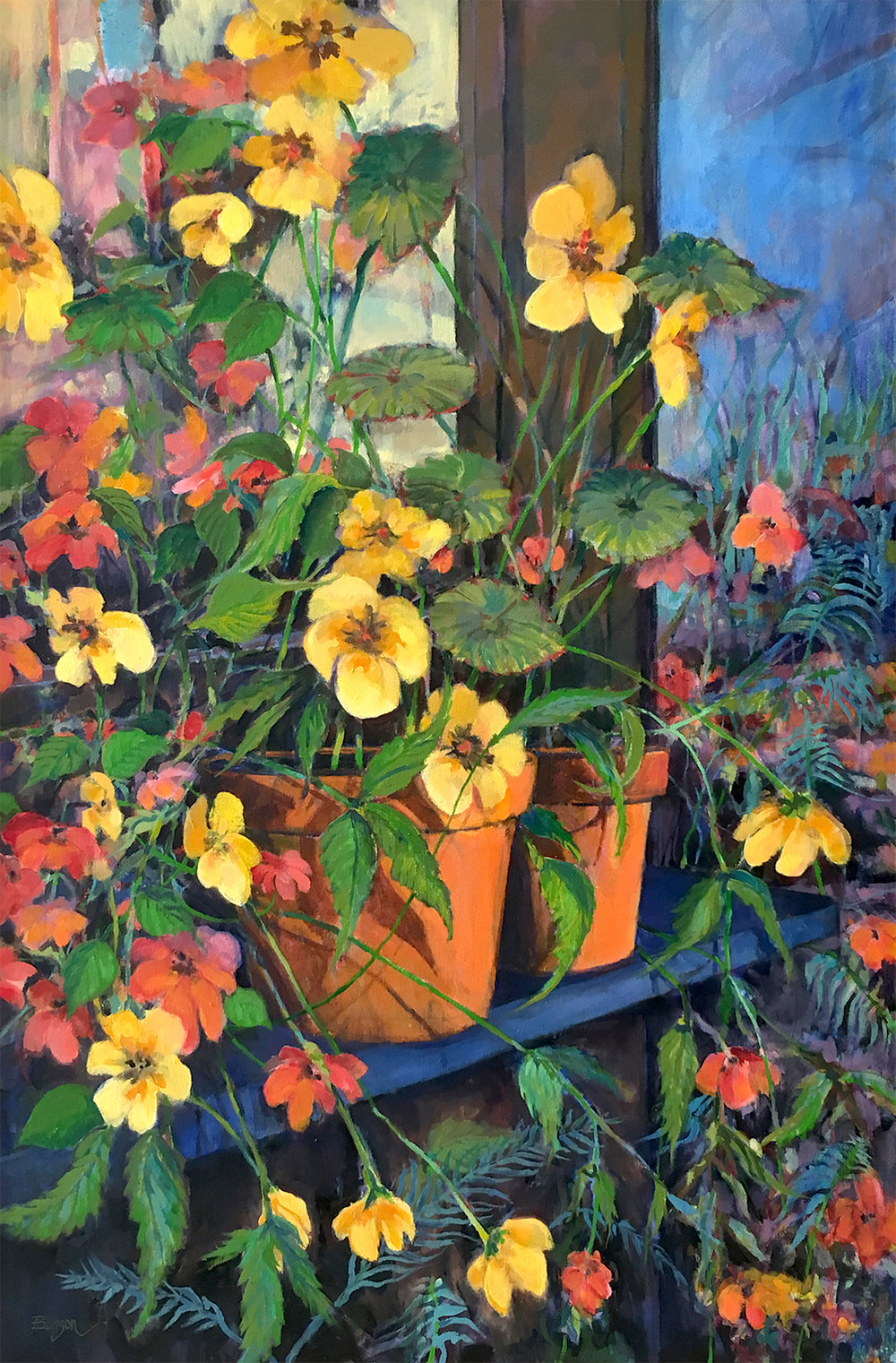 Jewett Benson:  Barbara's Flowers