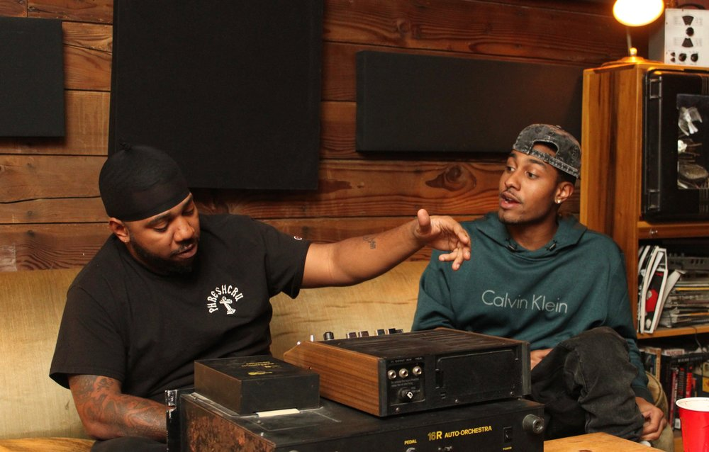 Chuck Inglish and Sir Mike - The Cool Kids sessions