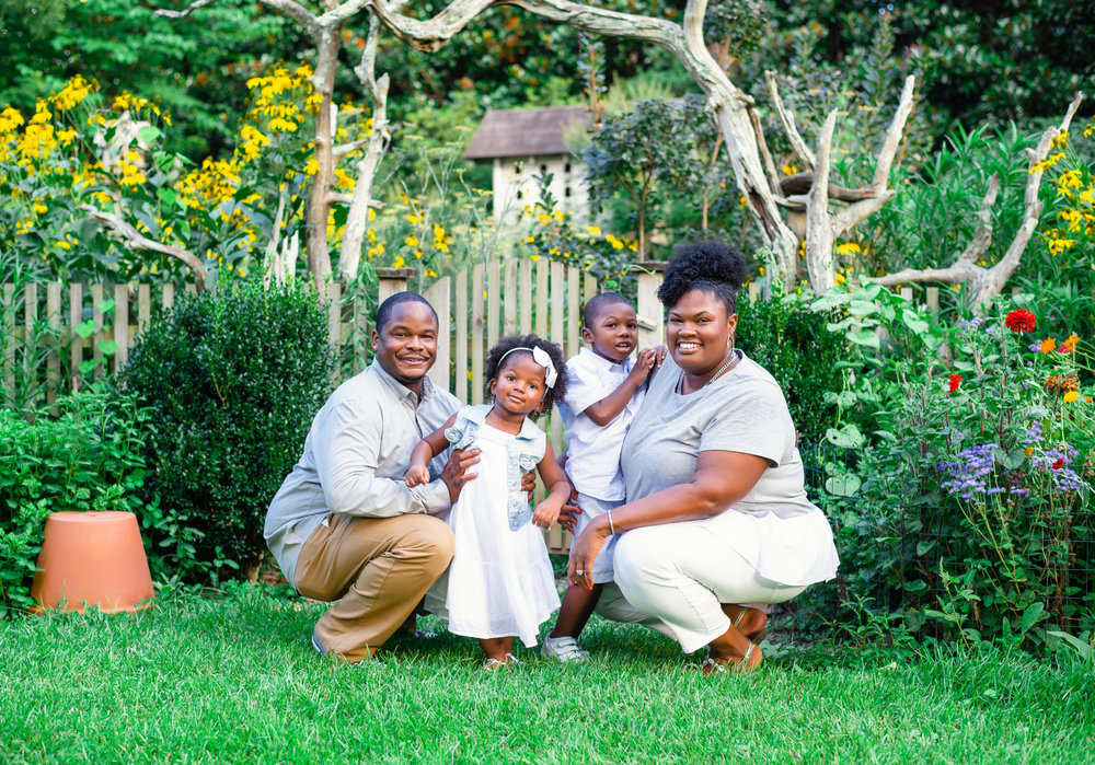 African American Family Picture