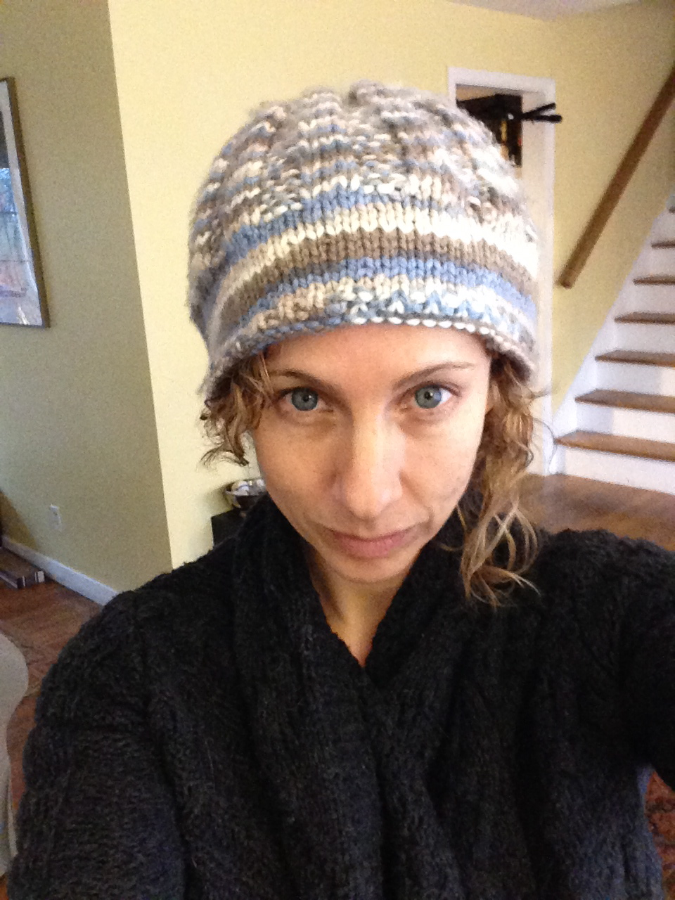I knit this hat
