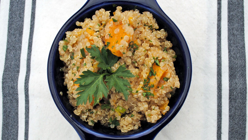 Roasted Butternut Squash Quinoa