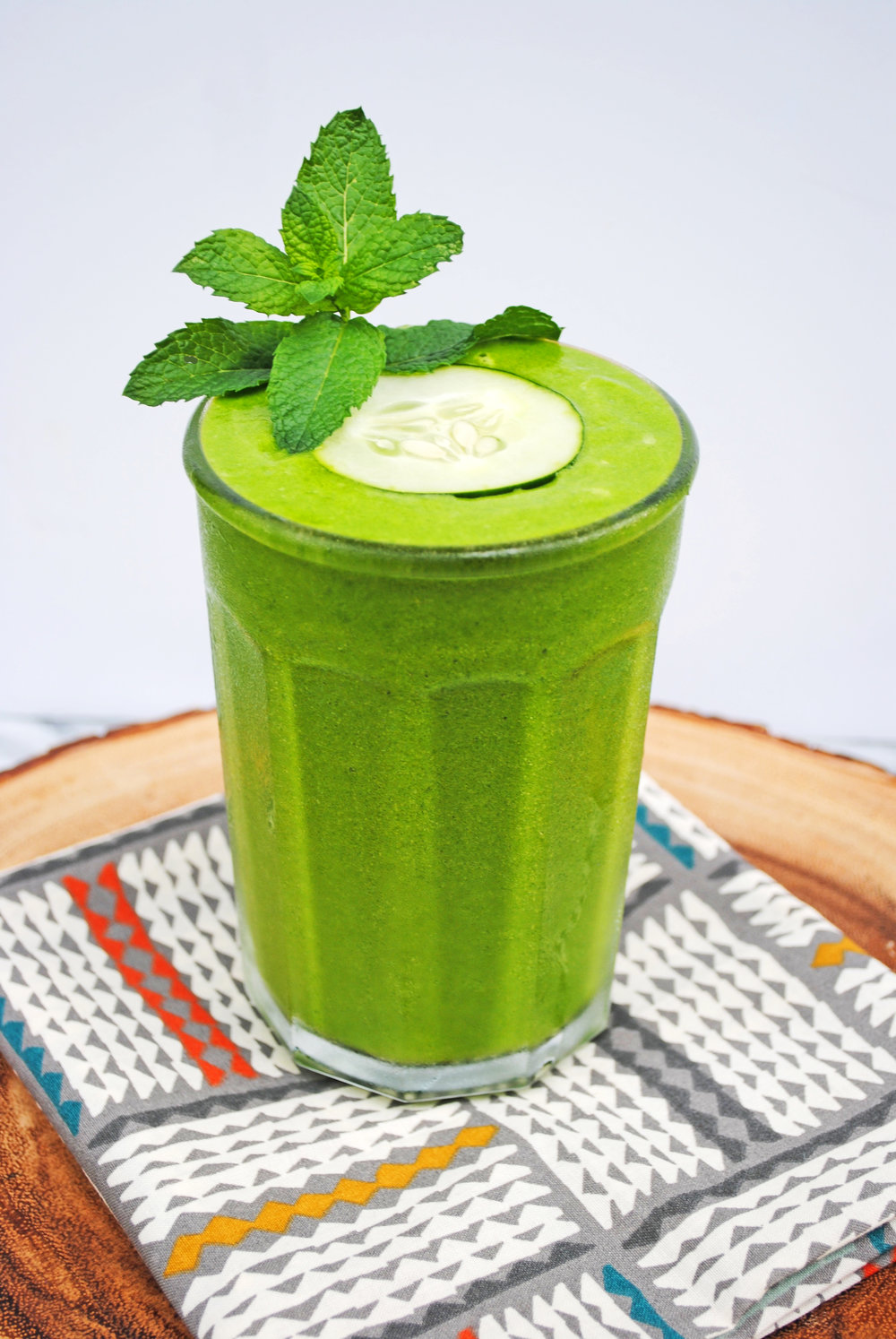 Cucumber Ginger Green Juice