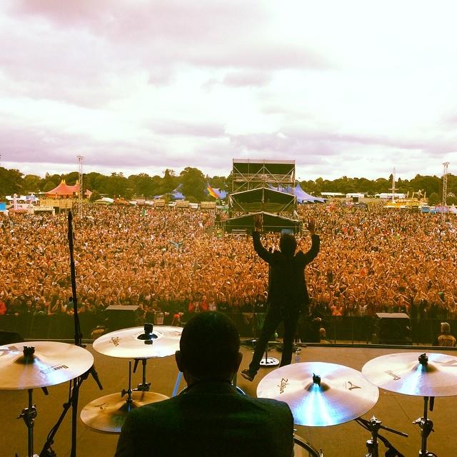 V Festival, Hylands Park, U.K. - August 2014