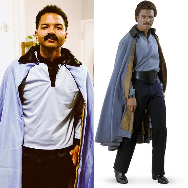 You've got a lot of guts coming here, after what you pulled. #lando