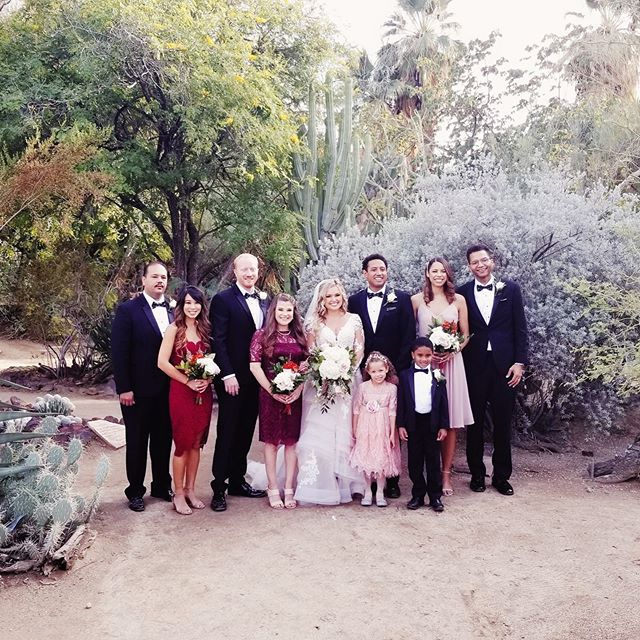 Congrats to the happy couple, @jdeez15 and @legallyboo! I had a blast celebrating my brother-in-law's wedding in Palm Springs last weekend.