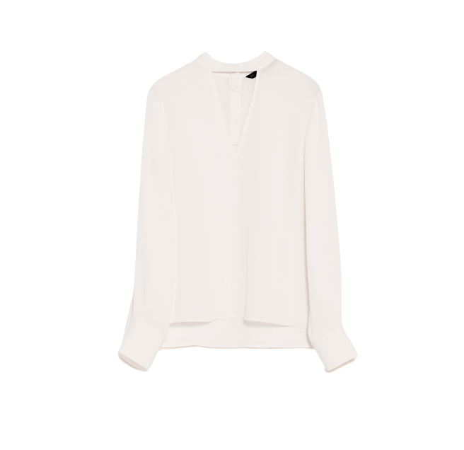 Zara V-Neck Blouse