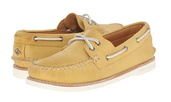 Yellow Sperrys