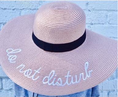 Pink Haley Hat