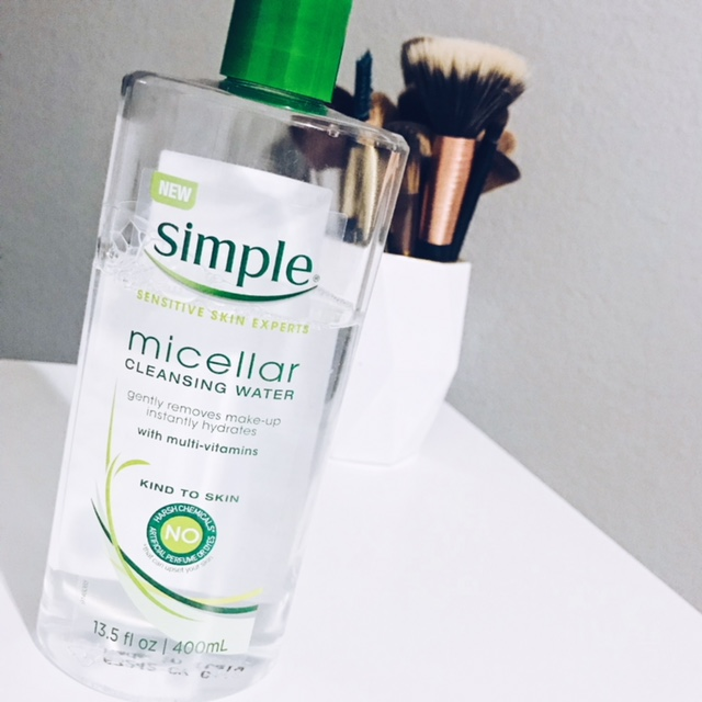 simple micellar water - I talked about this product in my skin care routine post a few weeks back but I really do believe this stuff is amazing. It removes all makeup and anything left over after my makeup wipes. I use this twice daily, in the morning and before bed at night. I love that this stuff is very natural and has no harsh chemicals, scents, or additives. This stuff has really helped improve my skin and leaves it with a nice healthy glow.