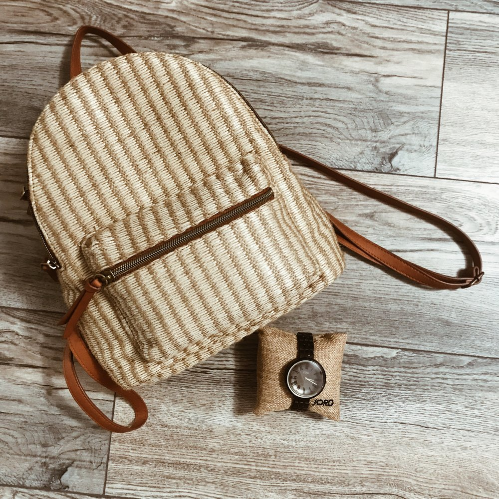 back to school must have- wooden watches - * Scroll to bottom to enter GIVEAWAY.