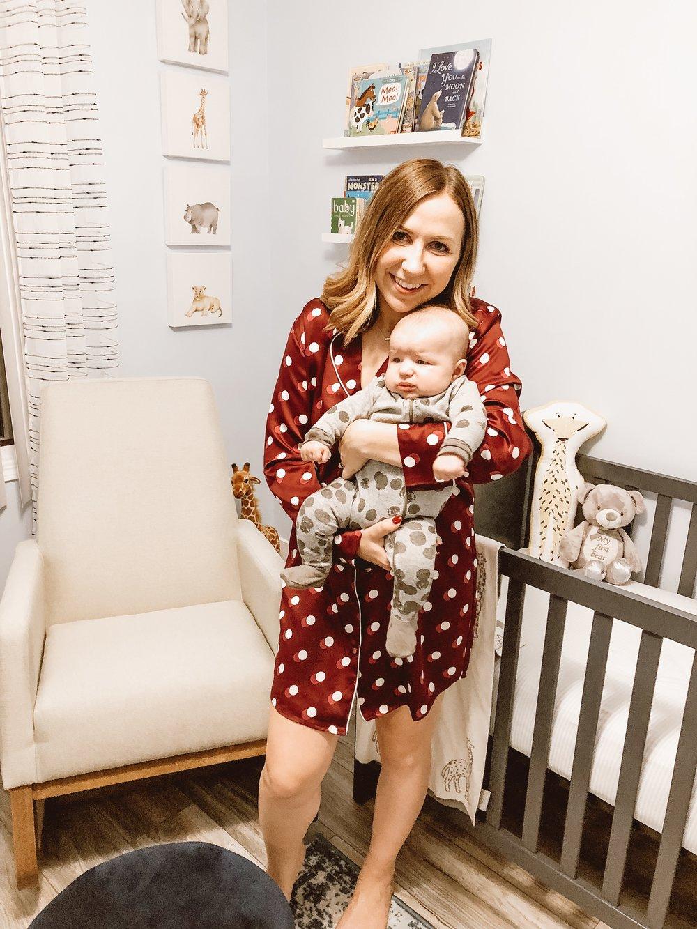 newborn night-time routine