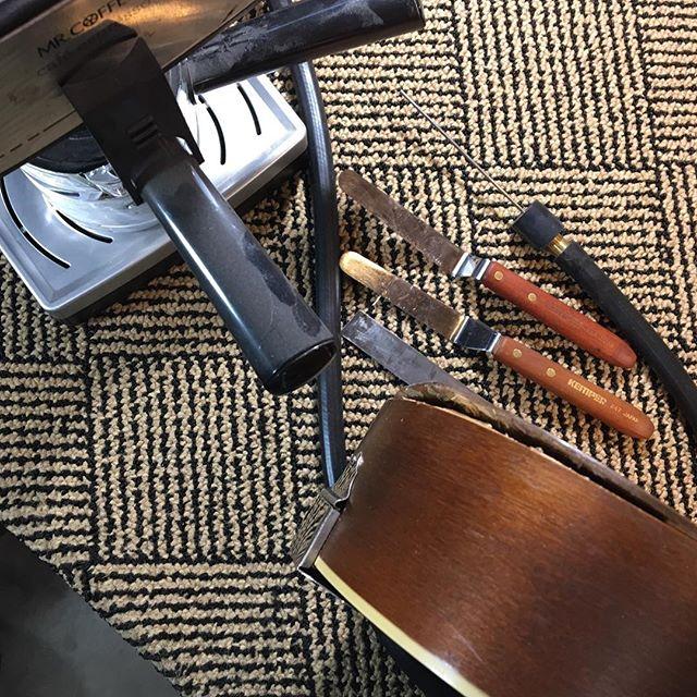 #mrcoffee #espresso #unrepair #repair #luthier #vermont #supertone #mandolin