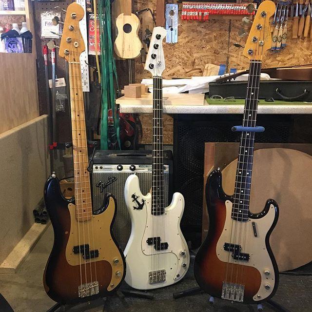 #fender #pbass #luthier #vermont #repair #lowendgroupies