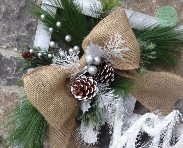 rustic Christmas decor, rustic Christmas decoration, handmade Christmas decor, handmade rustic decoration, handmade Christmas ideas, fireplace decor, rustic fireplace decor idea, burlap Christmas decoration, JOY decoration, reclaimed wood decoration, reclaimed wood DIY, reclaimed wood Christmas decoration, reclaimed wood handmade Christmas decor,