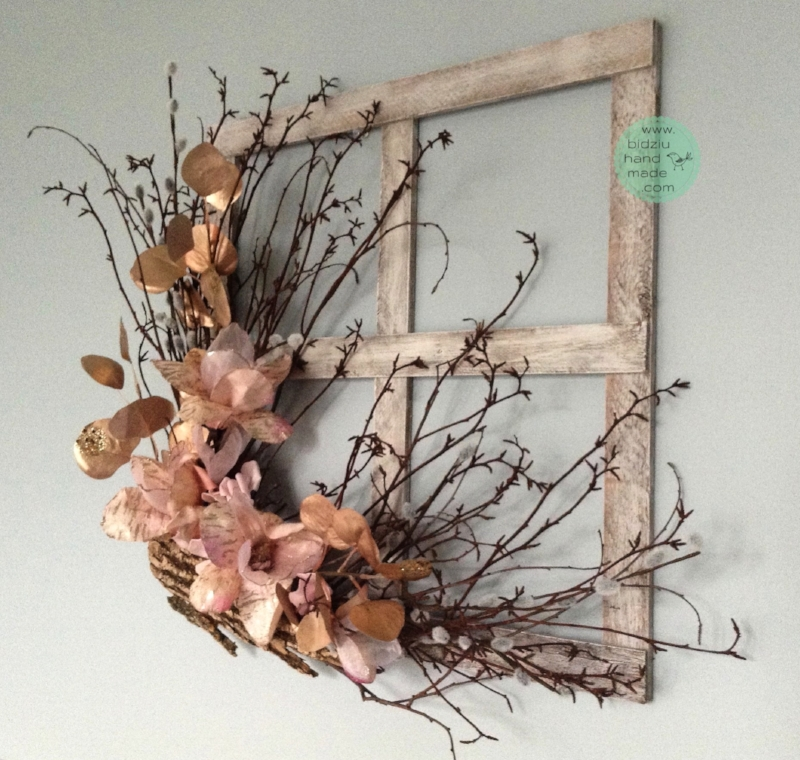 Decorative Rustic Frame For Spring Bidziu Handmade