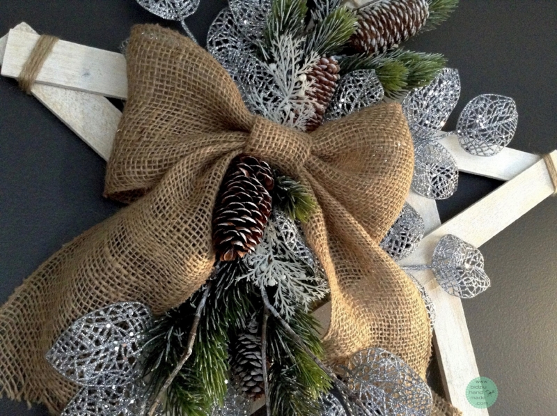 rustic Christmas decor, modern Christmas decor, burlap Christmas decor, handmade Christmas decor, rustic Holiday decor, modern holiday decor, burlap holiday decor, handmade holiday decor, silver Christmas, silver Christmas decor, silver winter decor, handmade winter decoration, hanging star, Christmas star, rustic star, rustic Christmas star, rustic holiday, rustic winter, wood star, handmade star, bidziu handmade, bidziuhandmade