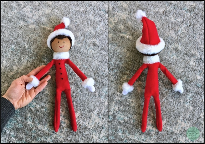 DIY elf on the shelf, handmade elf on the shelf, DIY instructions, elf on the shelf tradition, DIY tutorial elf on the shelf, Elfie, handmade Christmas, Christmas tradition, Christmas traditions for kids, kids' Christmas, things to do for kids at Christmas, holiday elf, DIY holiday elf, DIY red elf, things to do for kids during the holidays, sewing, sewing project, DIY sewing, crafting project, Christmas crafts, Christmas craft DIY, bidziu handmade bidziuhandmade