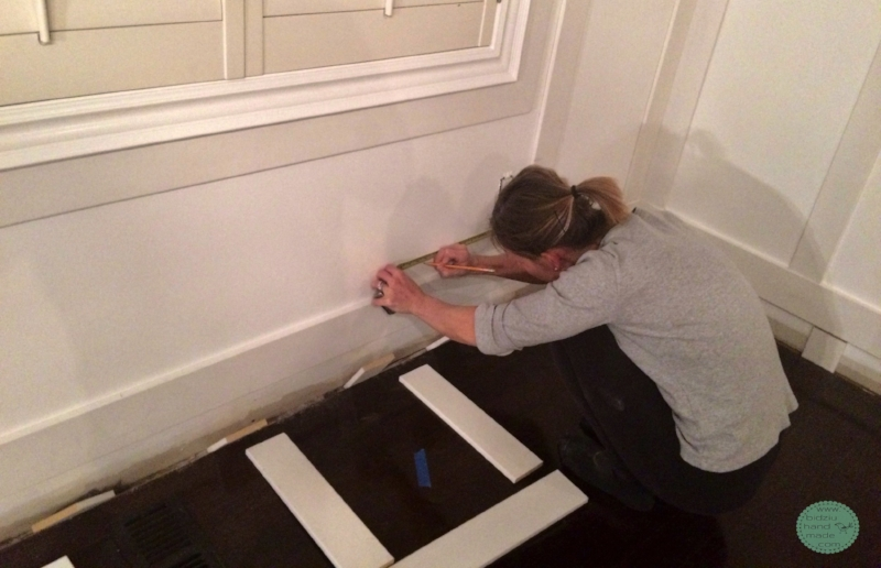 DIY wainscoting, modern wainscoting, modern wall decor, modern home, DIY home, DIY home projects, DIY home renovation projects, DIY projects, home renovation, home renovation project, modernizing your home, DIY modern home decor, modern home decor, handy woman projects, home projects, cool home projects, must-have home projects, wood working projects, dining room wainscoting, wainscoting in dining room, rectangular wainscoting, simple wainscoting, modern dining room, modern dining room decor, dining room decor, white wainscoting, wainscoting ideas, wainscoting in the home, how to wainscoting, wainscoting tutorial, wainscoting DIY tutorial, how to create drama in a room, dramatic dining room, bright and airy dining room, bidziu handmade, bidziuhandmade