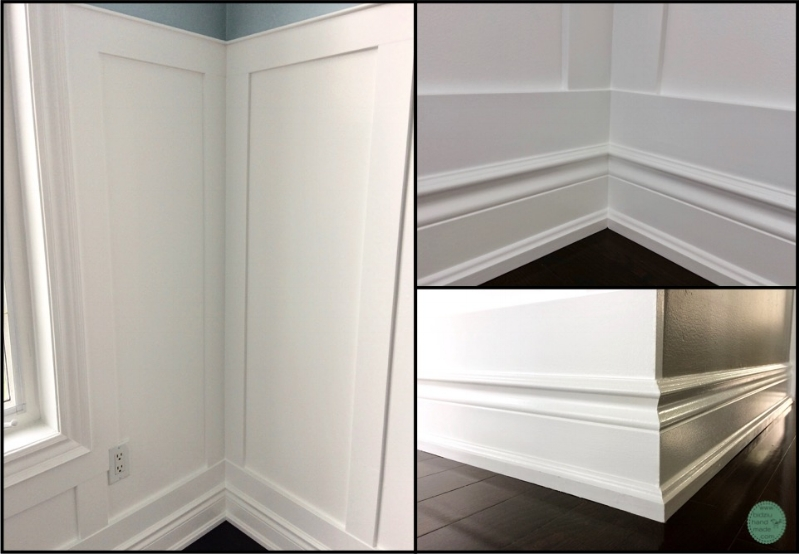 wainscoting around windows, how to install wainscoting around windows, wainscoting on interior wall corners, wainscoting on exterior wall corners, wainscoting in wall corners, wainscoting on wall ends, DIY wainscoting, modern wainscoting, modern wall decor, modern home, DIY home, DIY home projects, DIY home renovation projects, DIY projects, home renovation, home renovation project, modernizing your home, DIY modern home decor, modern home decor, handy woman projects, home projects, cool home projects, must-have home projects, wood working projects, dining room wainscoting, wainscoting in dining room, rectangular wainscoting, simple wainscoting, modern dining room, modern dining room decor, dining room decor, white wainscoting, wainscoting ideas, wainscoting in the home, how to wainscoting, wainscoting tutorial, wainscoting DIY tutorial, how to create drama in a room, dramatic dining room, bright and airy dining room, bidziu handmade, bidziuhandmade