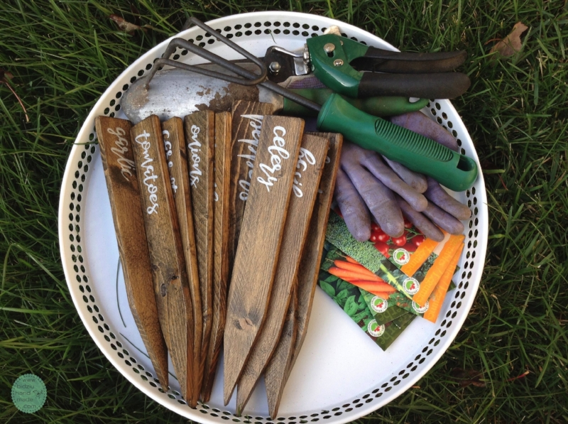 Vegetable Markers, Garden Markers, Vegetable Garden Markers, Wood Garden  Markers, Handmade Garden