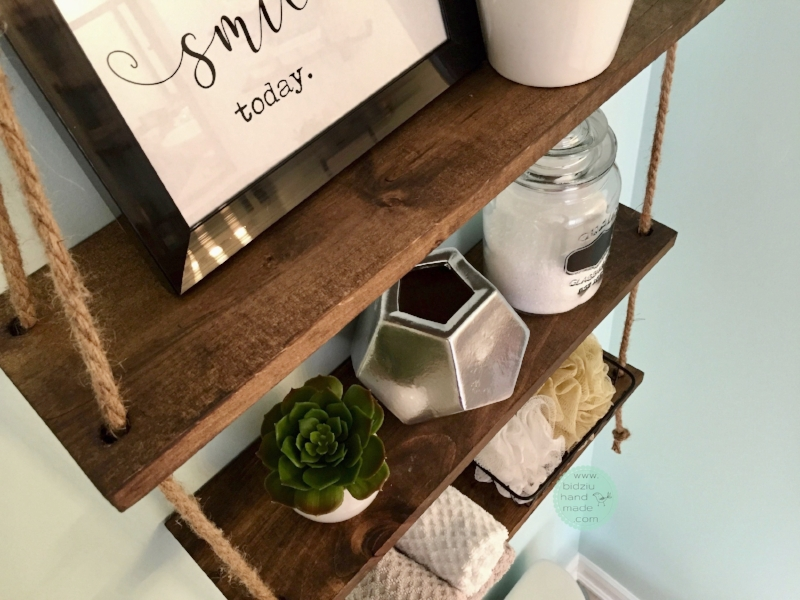 rope shelf, DIY rope shelf, DIY shelf, decorative shelf, DIY decorative shelf, DIY bathroom shelf, bathroom shelf, bathroom storage solutions, wood shelf, DIY wood shelf, woodworking projects, bathroom organization, organization ideas, modern bathroom decor, modern bathroom, rustic bathroom decor, farmhouse bathroom, farmhouse bathroom decor, DIY bathroom, DIY bathroom decoration, modern home, modern home decor, modern home decoration, DIY project, small space, small space organization, above the toilet decoration, above the toilet shelf, above the toilet, above the toilet decor, what to hand above the toilet, bathroom DIY, rustic bathroom shelf, handmade shelf, handmade wood shelf, handmade rope shelf, rustic rope shelf, modern rope shelf, bidziu handmade, bidziuhandmade