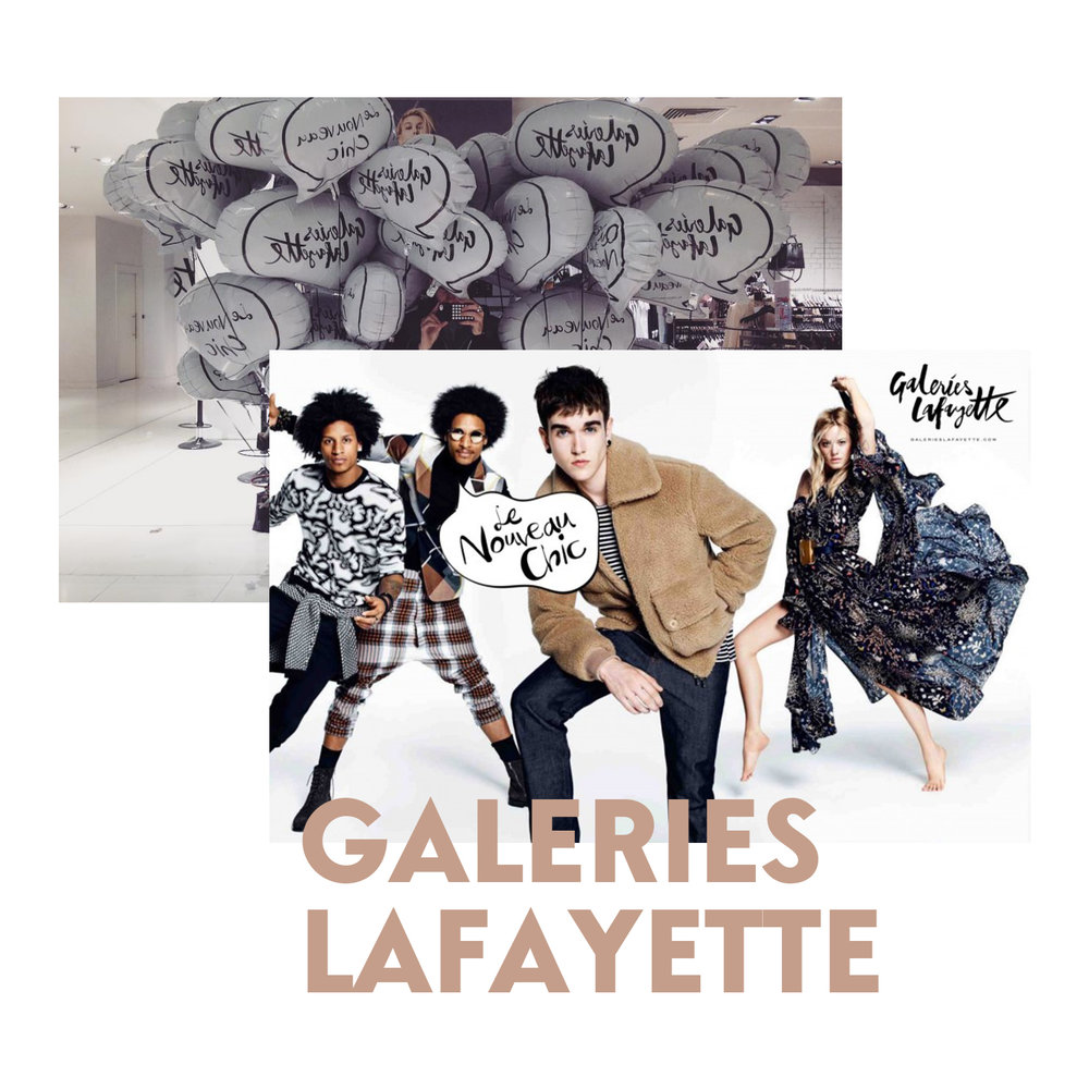 Gallerieslafayette blogueurs influence