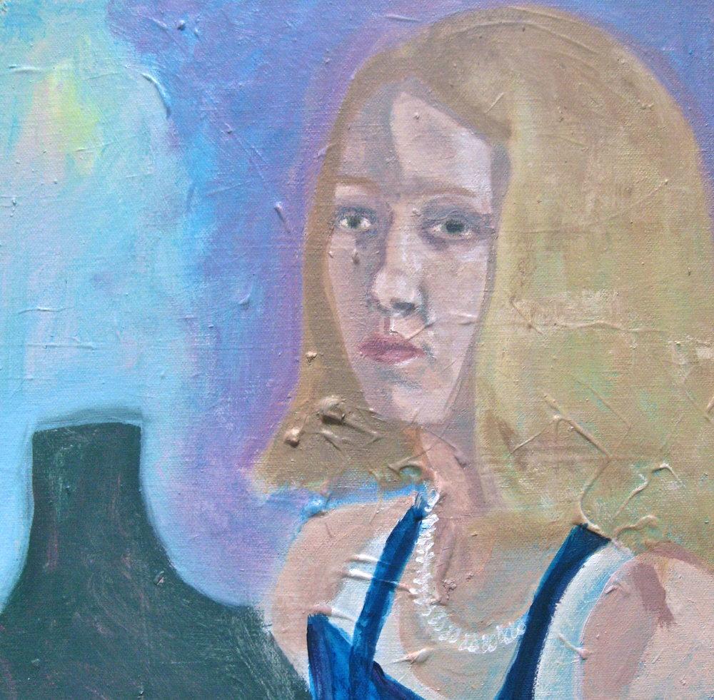 Self Portrait with Power Plant