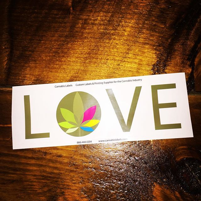 Thanks for the awesome sticker @cannabislabels ! We LOVE it!