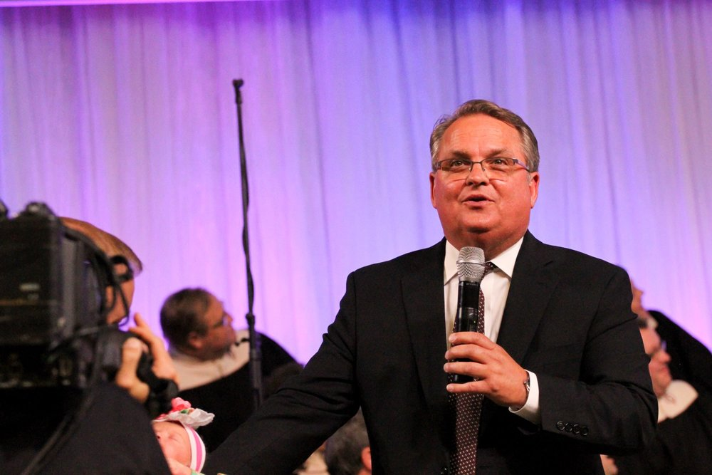 Assemblies of the Lord Jesus Christ - General Superintendent - Reverend Kenneth Carpenter