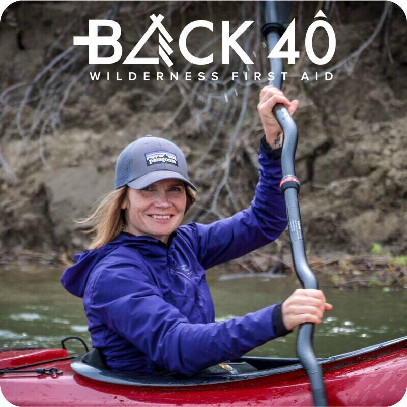 - Rebecca Basset from Back 40 Wilderness First Aid will lead hands-on winter first aid training. This will be useful for outdoor adventures and everyday life too! Rebecca enjoys climbing, kayaking, hiking and exploring nature with her two daughters.