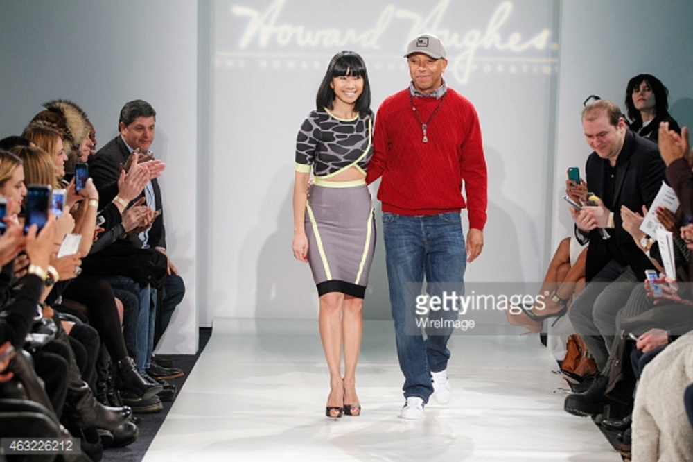 New York Fashion Week. ModaBox & Russell Simmons Collaboration on FW Runway Show collection.