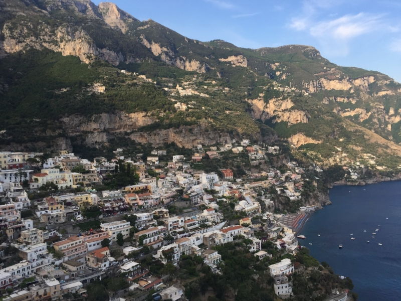 The views of Positano in the Amalfi Coast are right out of a movie...