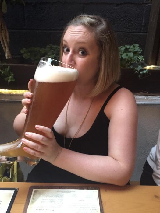 Yes, beer is vegan. Prost!