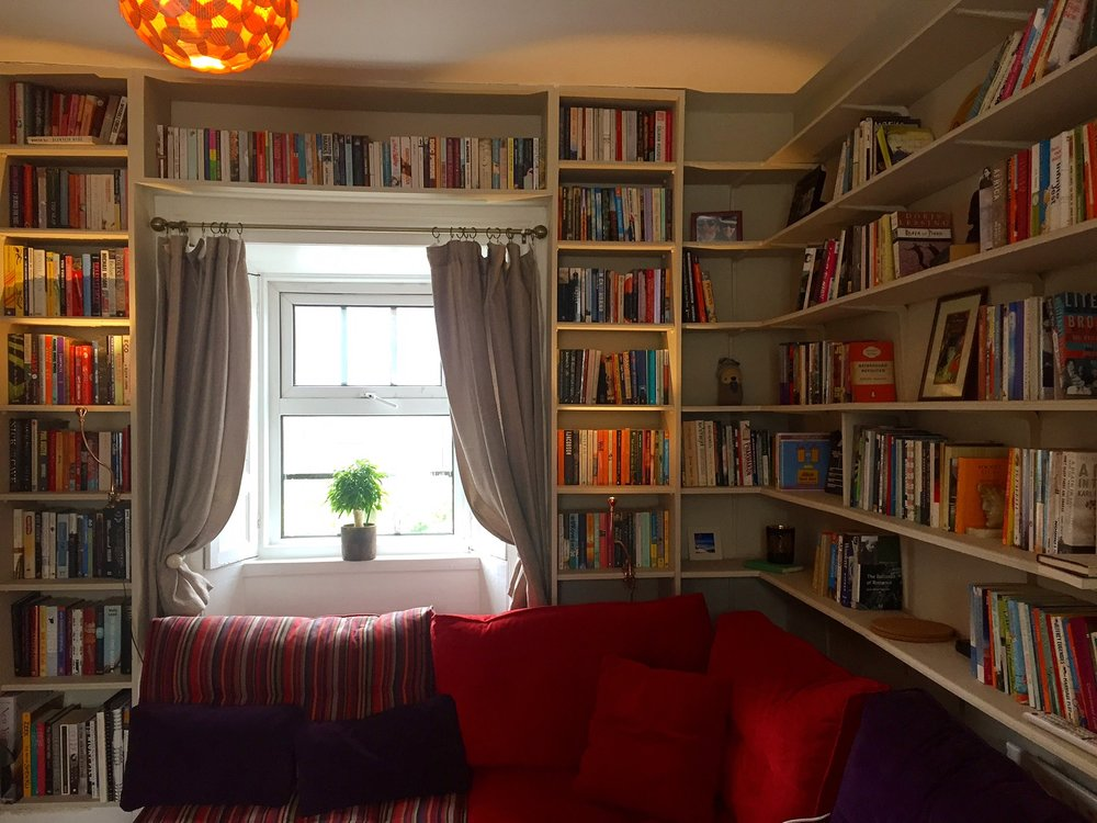 This quaint Georgian house in Dublin came with a fully stocked library, and the best host I've encountered during my travels!