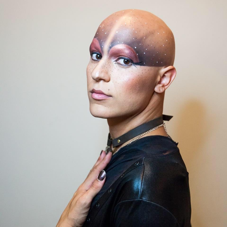 Model:   Heiress                                       Photography:  Mengwen Cao   Makeup:  Slater Stanley
