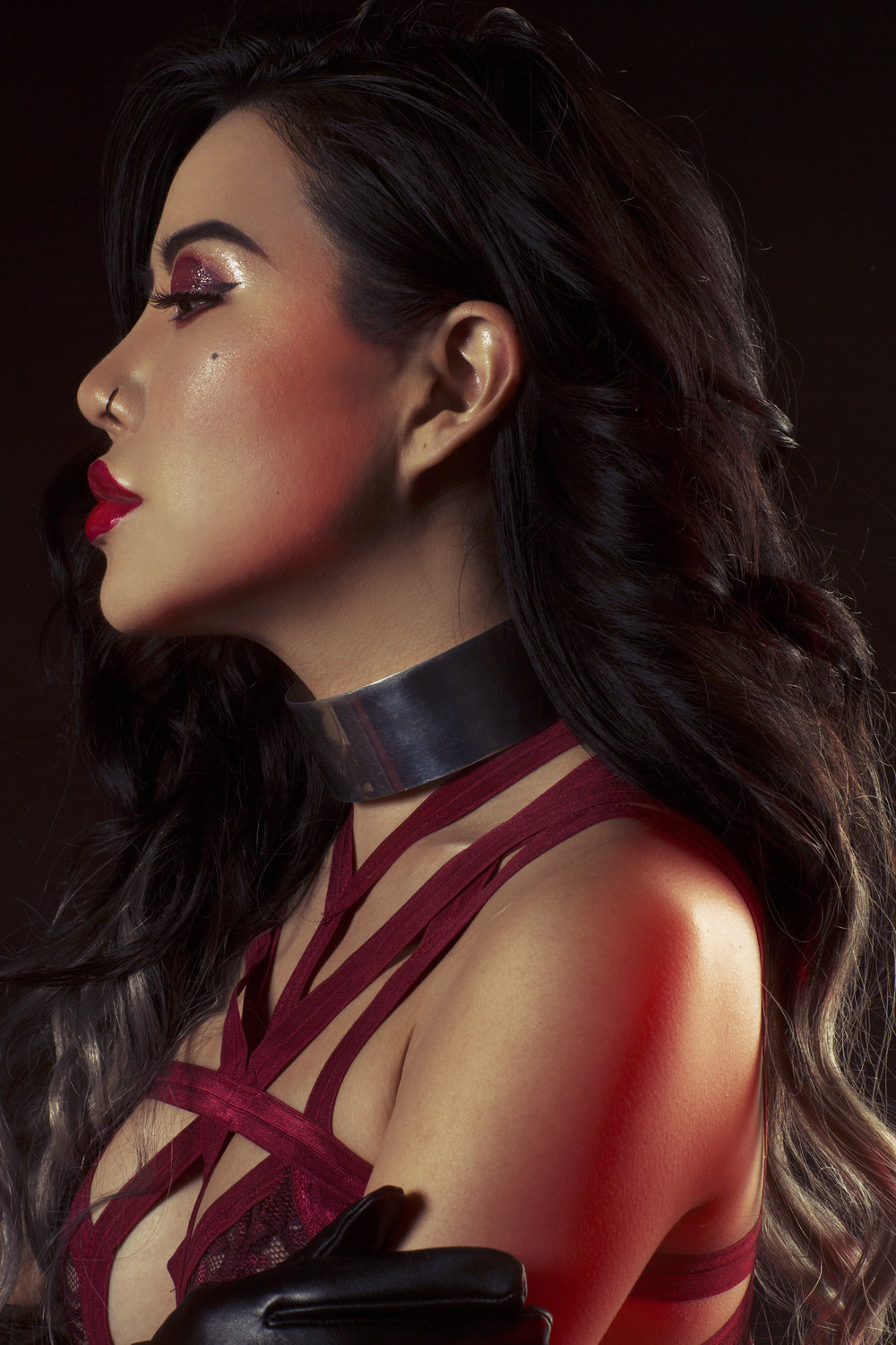 Model:   Eugenie Chung (Grey)                     Clothing:  Cantiq LA    Photography:  Tayler Smith   Makeup:  Slater Stanley