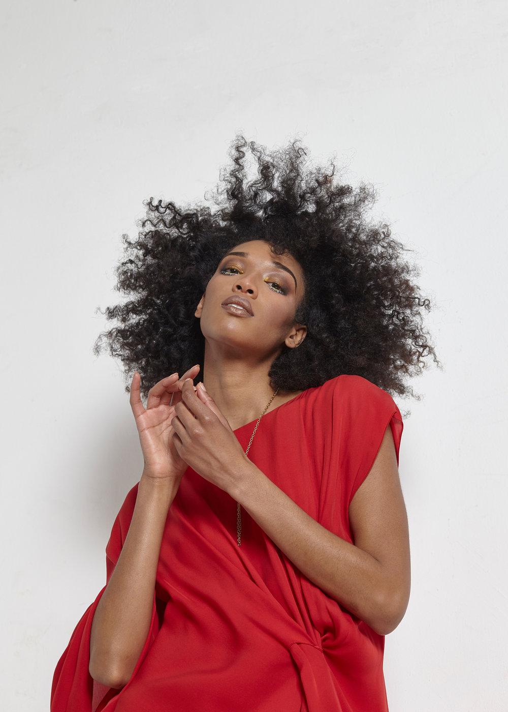 Photography:  Charles Ludeke   Model:   Alysia Beckford   Styling:  Sean Santiago   Hair:  Nigella   Makeup:  Slater Stanley