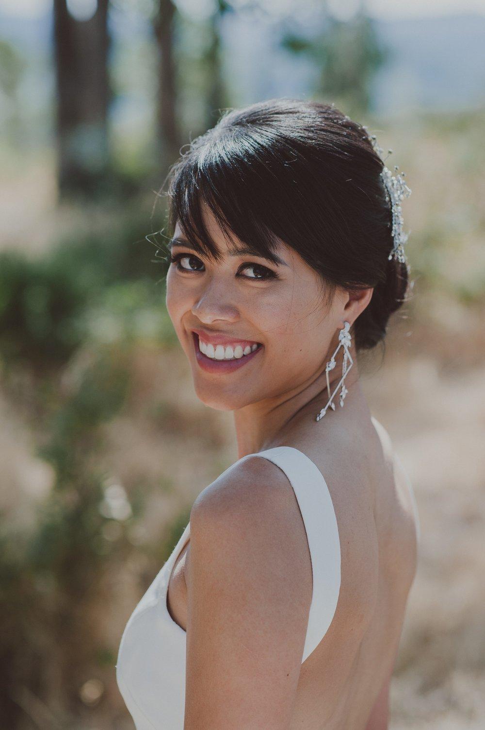 Bride:  Audrey  Photography:  LOVE + WOLVES CO  Makeup:   Slater Stanley