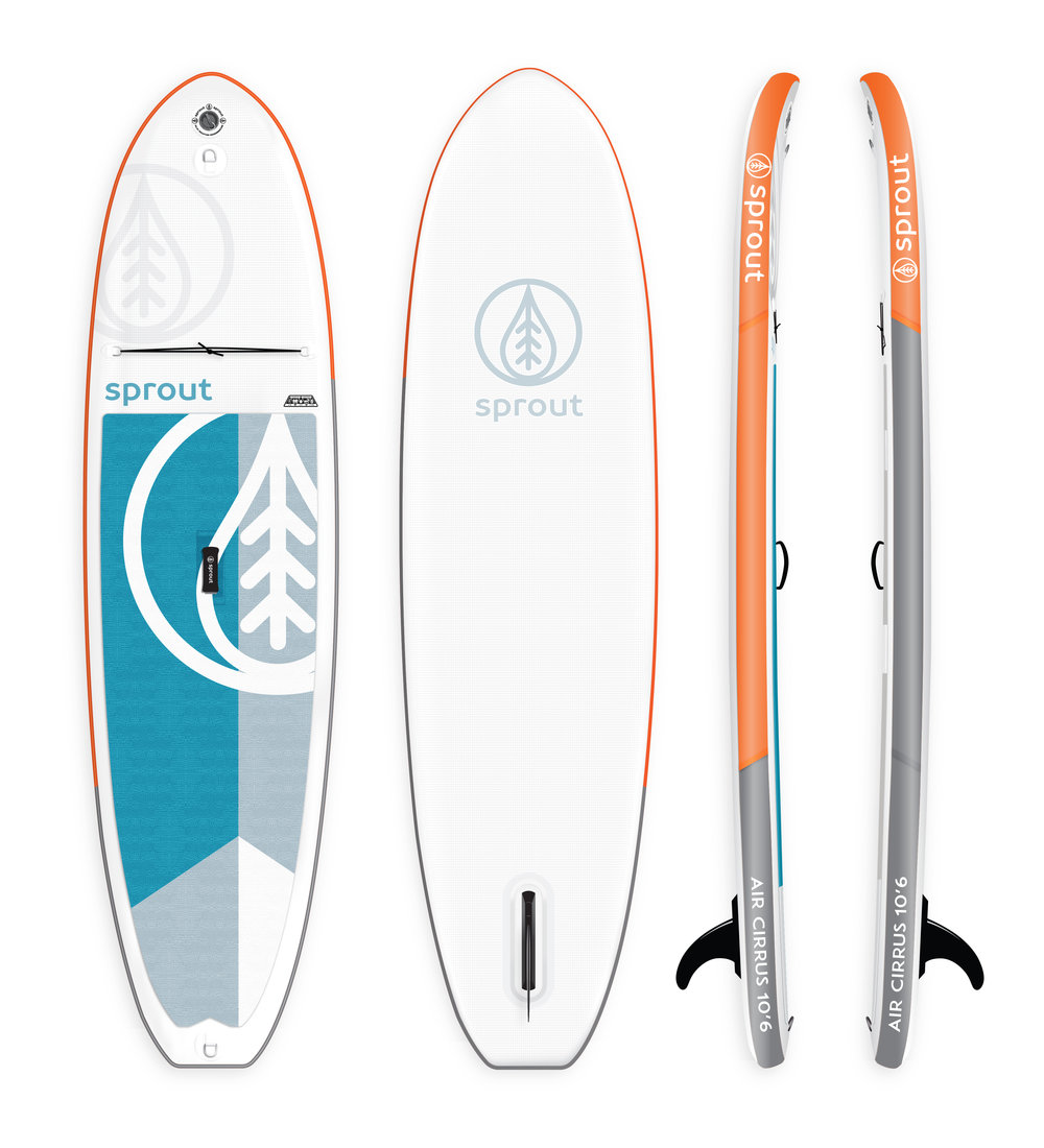 sprout surf sup skye rainey