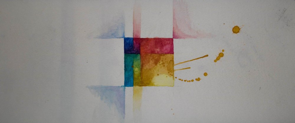 ONE A DAYS - TWENTY NINE MINIMALIST WATERCOLORS BY PSILLY GOOSE