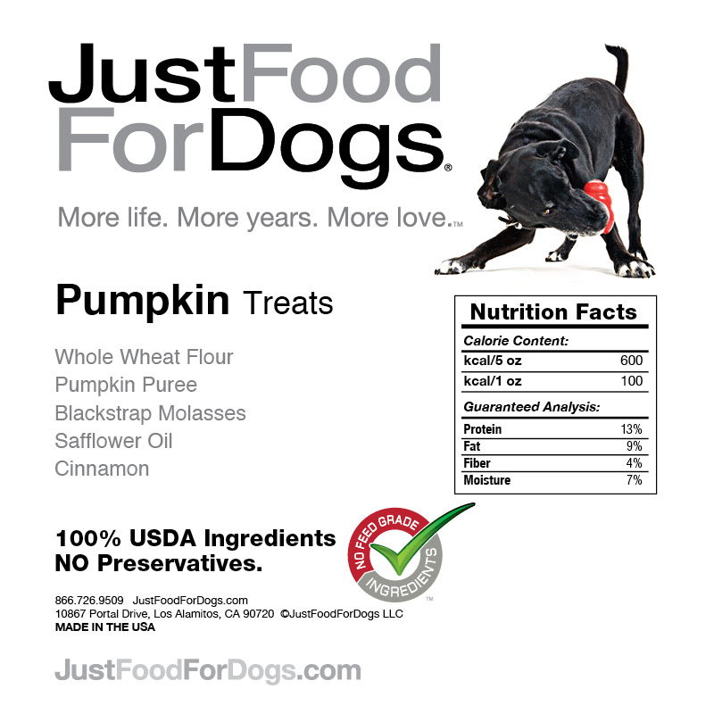Just Food For Dogs Pumpkin Treats