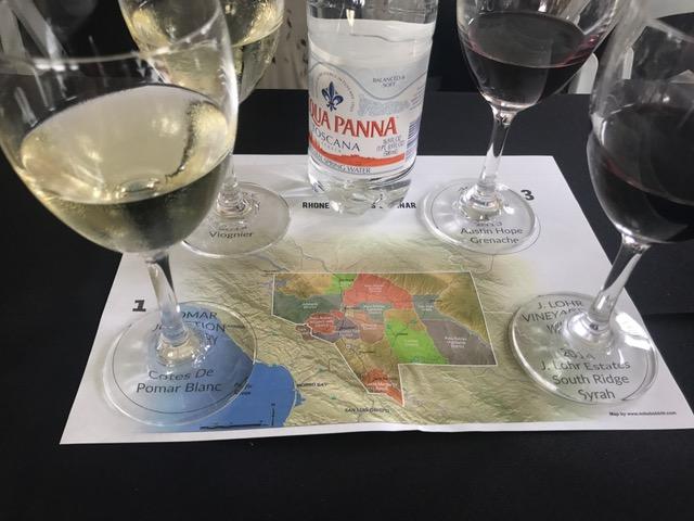 Tasting my way through the Rhone region