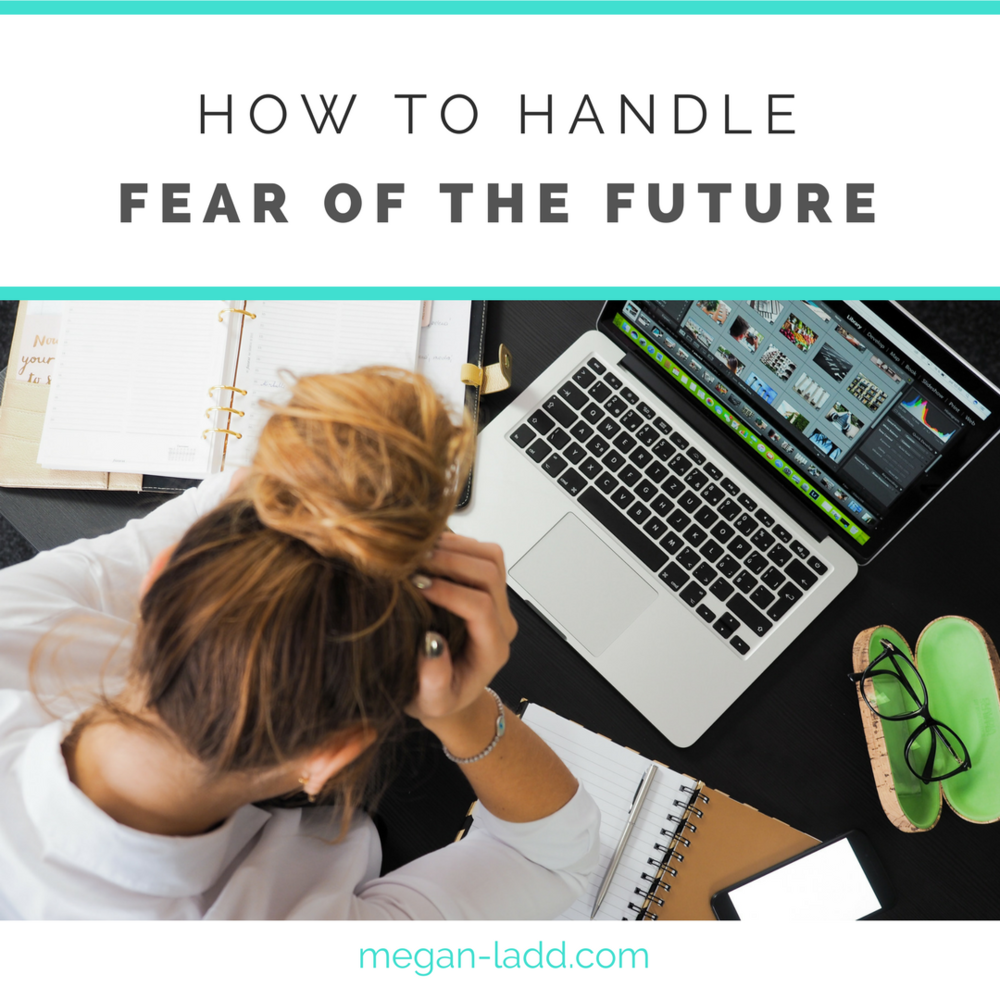 how to kick fear to the curb and get excited about your future